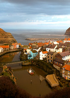 Staithes Evening Light